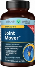 Joint soother omega 369 Vitamin World 120 vien nang