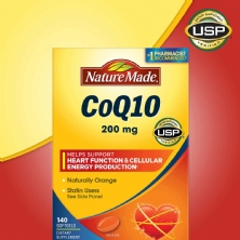Nature Made® CoQ10 200 mg., 140 Vien