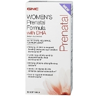 GNC Women's Prenatal Formula with DHA 90 v