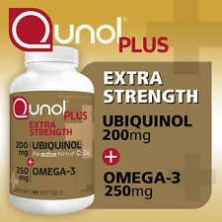 Qunol plus omega 3 200 mg 90 viên