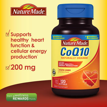 Coq10 200mg NatureMade